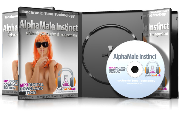 Alpha Male Instinct Brainwave Entrainment Isochronic MP3 Package
